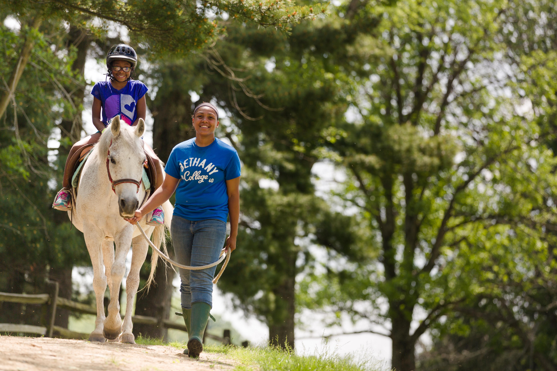 Horse Lover's Camp at the Oglebay Stables photo