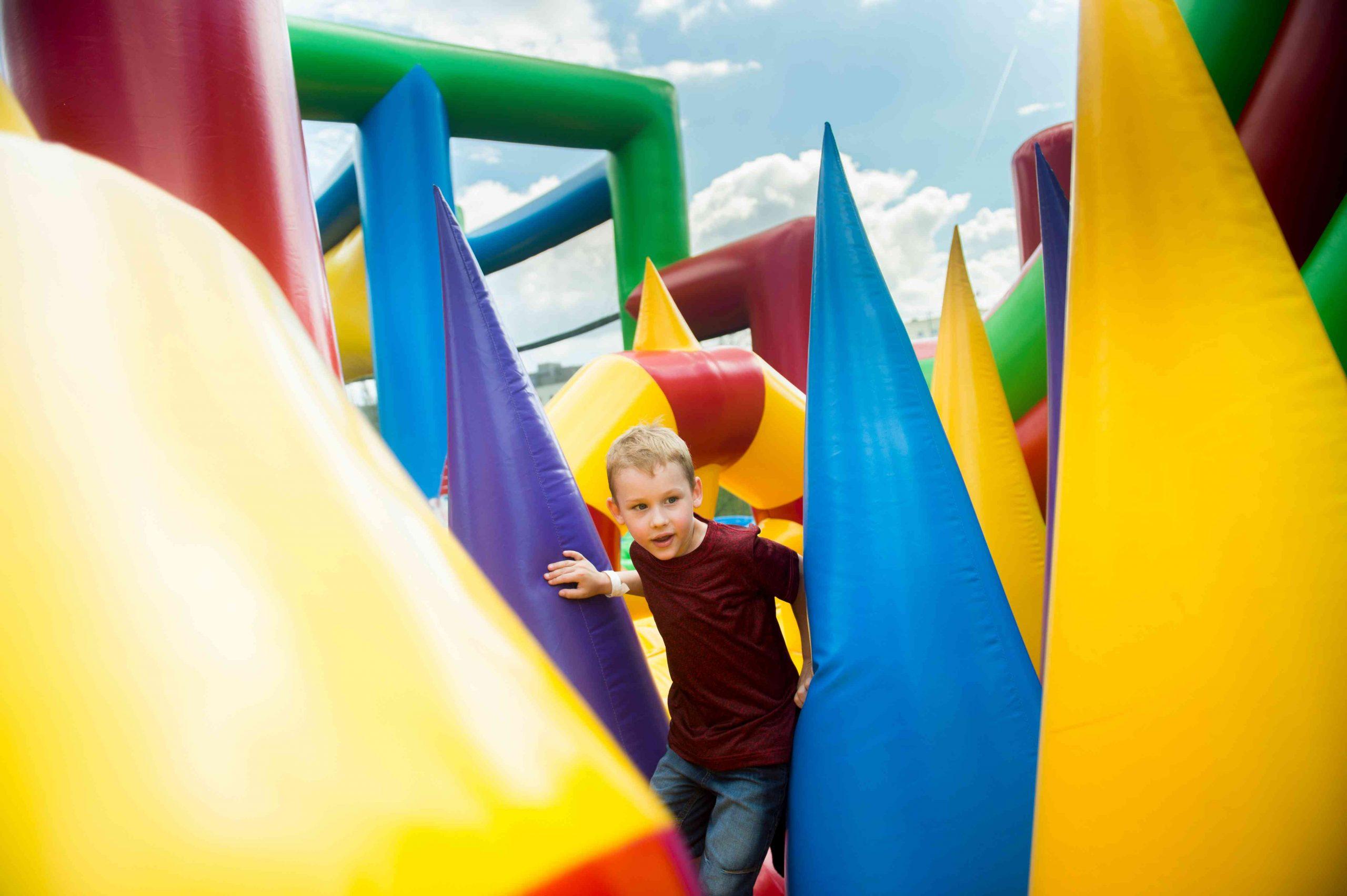 Inflatable Fun Zone photo
